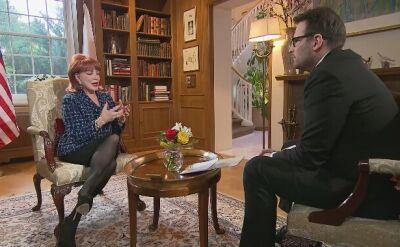 """Rozmowa z ambasador Georgette Mosbacher dziś w """"Faktach o Świecie"""""""