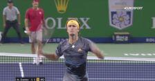Roger Federer znalazł pogromcę w osobie Alexandra Zvereva