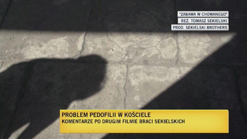 """Fragment filmu """"Zabawa w chowanego"""" braci Sekielskich"""