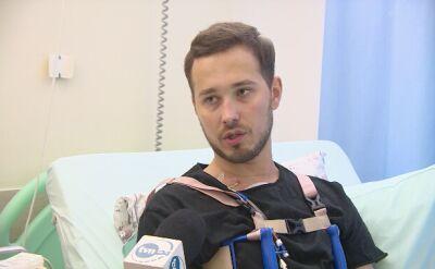 30-letni pacjent po zabiegu autotransplantacji serca