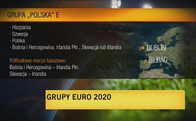Brzęczek ocenił losowanie grup Euro 2020