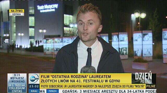 """Złote Lwy dla """"Ostatniej rodziny"""" na 41. Festiwalu w Gdyni"""