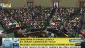 Sejm przyjął uchwałę ws. obrony suwerenności Rzeczypospolitej Polskiej i praw Polaków