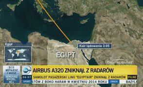 Samolot lecący z Paryża do Kairu zniknął z radarów