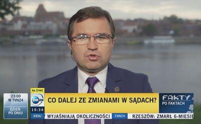 Girzyński: prezydent musi mieć szersze zaplecze polityczne