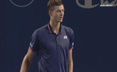Hurkacz w finale turnieju ATP w Winston-Salem