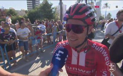 Roche po 2. etapie Vuelty: nie wierzyłem w to, że zostanę liderem