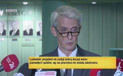 Laskowski: Sąd Najwyższy skierował do Trybunału Sprawiedliwości Unii Europejskiej dwa pytania