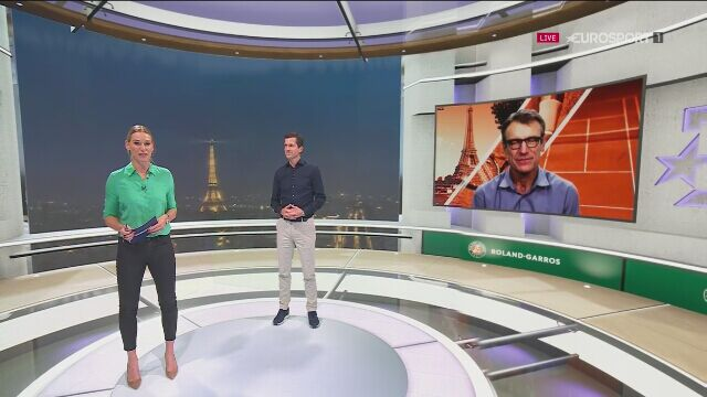 Eksperci Eurosportu po meczu Djokovicia z Tsitsipasem w półfinale French Open