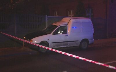 Wypadek w Rudzie Śląskiej. Samochód wjechał w grupę osób, które wysiadły z autobusu