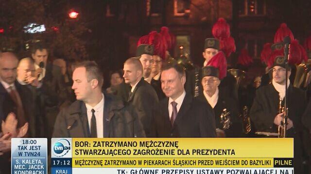 Marek Magierowski w rozmowie telefonicznej z TVN24
