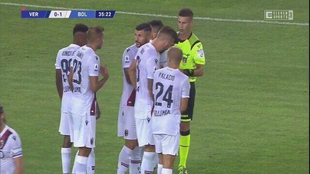 Serie A. Verona - Bologna - gol na 1:1