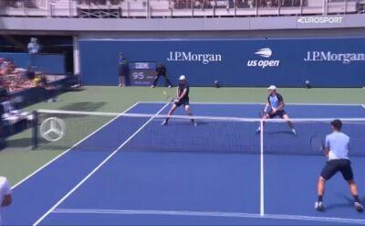 Tenisowy majstersztyk w wykonaniu Jamiego Murraya