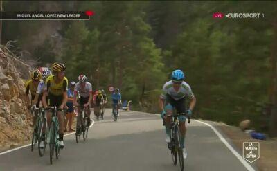 Miguel Angel Lopez zaatakował i jest liderem Vuelta a Espana