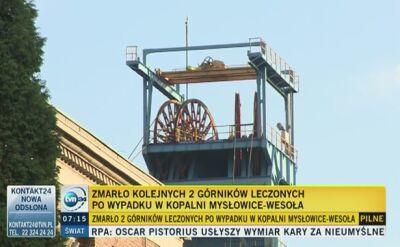 W szpitalu w Siemianowicach Śląskich zmarli kolejni górnicy
