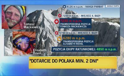 Rafał Fronia o akcji ratunkowej pod szczytem Nanga Parbat