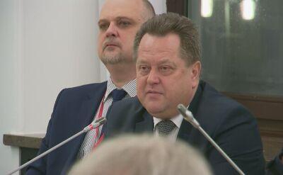 Zieliński tłumaczył się z marszu narodowców w Sejmie