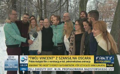 """""""Twój Vincent"""" z nominacją do Oscara. """"Wszyscy się odchudzają"""""""