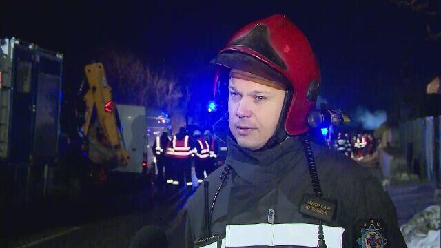 """Strażacy już z daleka widzieli łunę ognia. """"Szykowałem się mentalnie"""""""