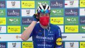 Bennett po zwycięstwie na 1. etapie wyścigu Volta ao Algarve