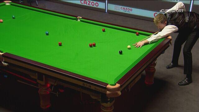 102 punkty Kyrena Wilsona w 6. partii półfinału Players Championship