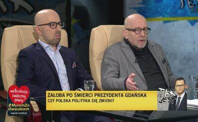 Krzysztof Łapiński i Paweł Śpiewak w Tak Jest