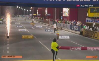 Lelisa Desisa z Etiopii mistrzem świata w maratonie