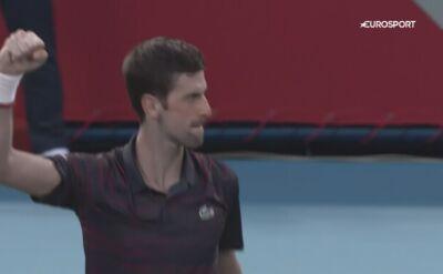 Novak Djoković pokonał Davida Goffina i zagra w 110. finale ATP w karierze