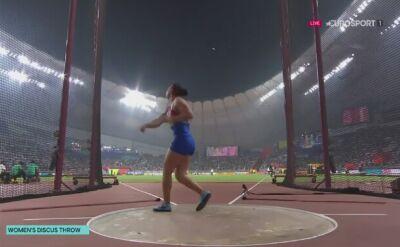 Yaime Perez złotą medalistką w rzucie dyskiem