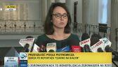 Gasiuk-Pihowicz: wnioski o ukaranie Piotrowicza i Rzońcy