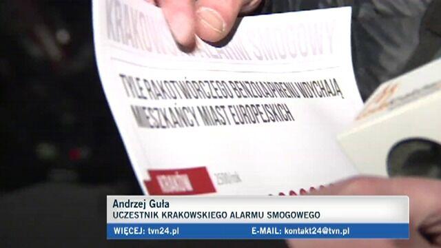 Marsz Antysmogowy przeszedł ulicami Krakowa