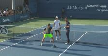 Najważniejsze wydarzenia z meczu Majchrzak - Ruusuvuori w 1. rundzie US Open