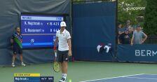 Majchrzak wygrał 3. seta z Ruusuvuori w 1. rundzie US Open