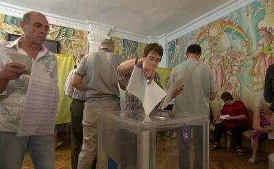 Na Ukrainie trwa głosowanie