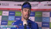 Cattaneo po wygraniu 4. etapu Tour de Luxembourg