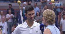 Djoković po przegranym finale US Open