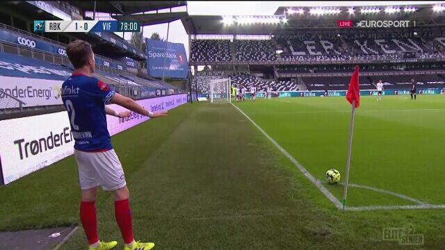 Liga norweska. Rosenborg - Valerenga 1:1 (gol Ivan Nasberg)