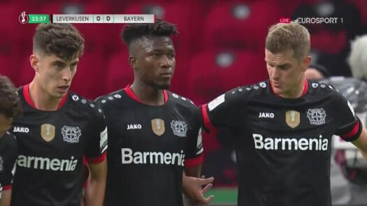 Finał Pucharu Niemiec. Bayern - Bayer 1:0 (Alaba)
