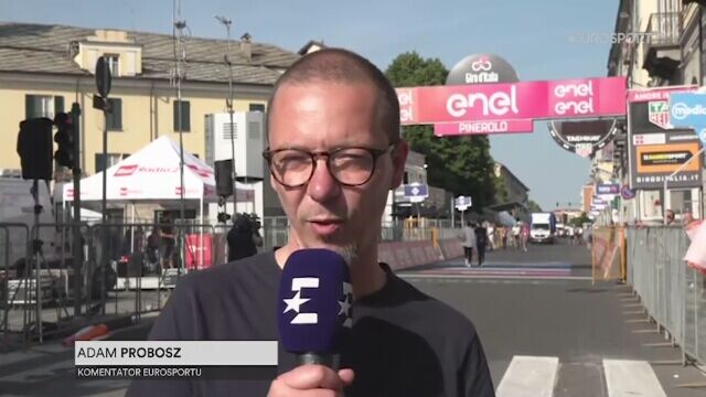 Adam Probosz podsumowuje 12. etap Giro