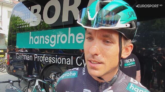 Cesare Benedetti przed 13. etapem Giro d'Italia