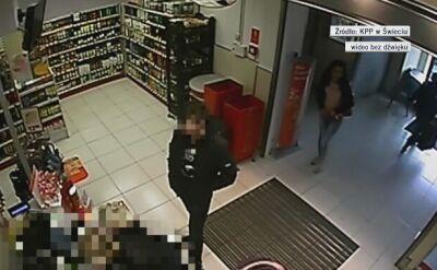Policja szuka osób z nagrania. Mogą mieć związek z kradzieżą