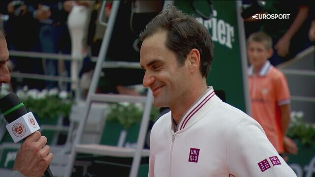 Federer po awansie do drugiej rundy Roland Garros