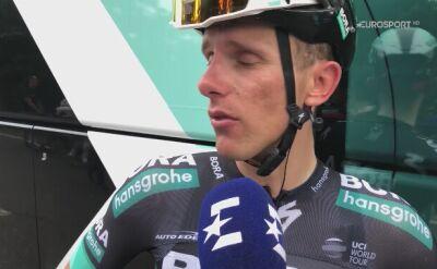 Rozmowa z Rafałem Majką po 10. etapie Giro