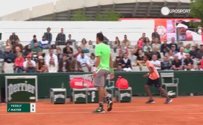 Krzyk złości na kortach Rolanda Garrosa. Ballboy przerwał grę