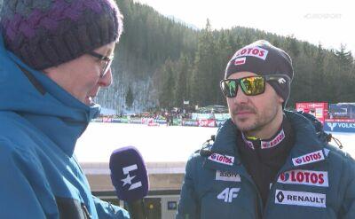 Michal Doleżal po sobotnim konkursie na Kulm