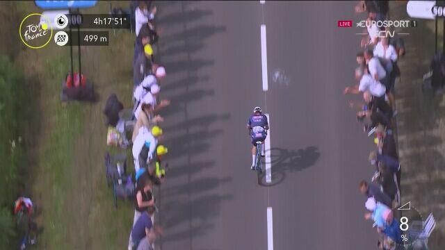 Mathieu van der Poel wygrał 2. etap Tour de France