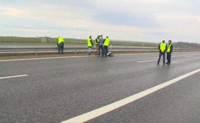 Do wypadku prezydenckiej limuzyny doszło na autostradzie A4