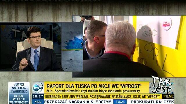 """Komunikat napawa smutkiem"""