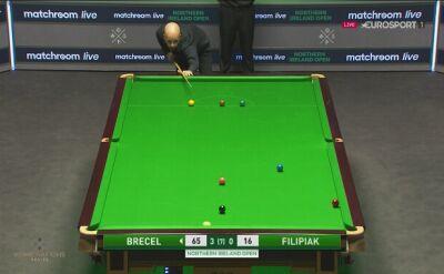 Luca Brecel lepszy od Kacpra Filipiaka w pierwszej rundzie Northern Ireland Open