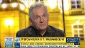 Zbigniew Bujak podzielił się swoimi wspomnieniami związanymi z Tadeuszem Mazowieckim